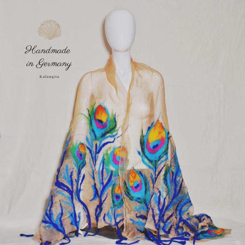Silk organza scarf, Nuno...