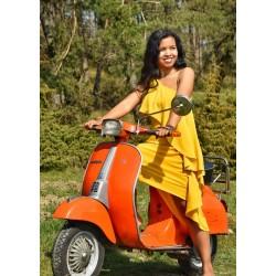 Volant Kleid aus ökologisch...