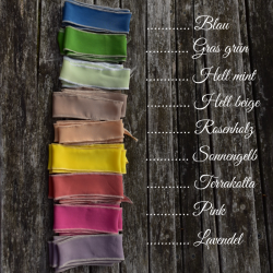 Silk ribbons, wrap...
